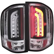 Vintage Ford Truck Tail Lights - anzo usa chevrolet silverado 1500 l e d tail lights tail lights
