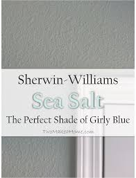 Sherwin Williams Sea Salt Bedroom by Sherwin Williams Sea Salt The Perfect Shade Of Girly Blue Two