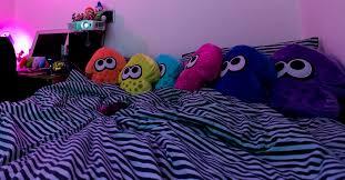 philips hue mood lighting in bedroom for splatoon 2 launch weekend