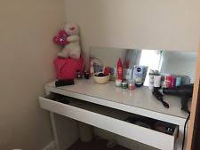 Glass Top Vanity Table Glass Dressing Table Ebay