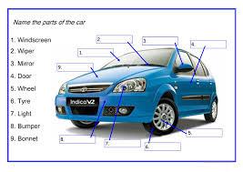 33 free esl cars worksheets