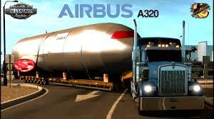 kenworth w900 very long load airbus a320 part 26 455 lb las