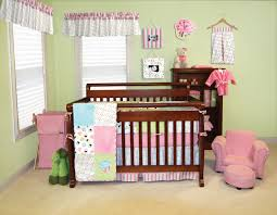 Pink And Green Nursery Decor Trend Lab Cupcake Nursery Collection Baby Care Solutions