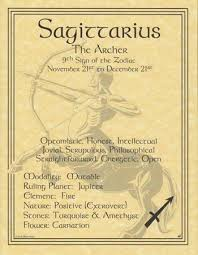 zodiac posters a wonderful reference the sagittarius poster explores the qualities