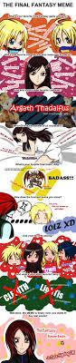 Final Fantasy Memes - final fantasy meme by jczala on deviantart