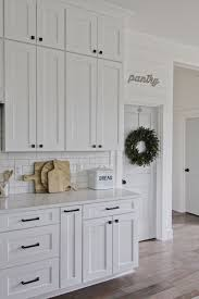white kitchen cabinets what color hardware inspiring neutral color kitchen ideas in beautiful classic