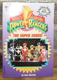 parachute press book mighty morphin power rangers super