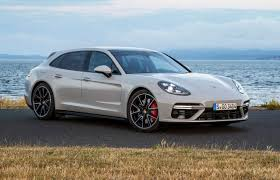 new porsche 4 door porsche panamera turbo sport turismo review gtspirit