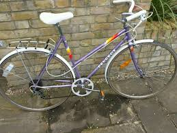peugeot bike white classic peugeot monaco ladies bike in hackney london gumtree
