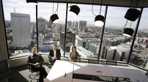 Office View by Gensler U0027s First Oakland Office Offers Front Row Views Of City U0027s