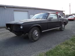 mustang project cars for sale 1967 mustang fastback project car for sale photos technical