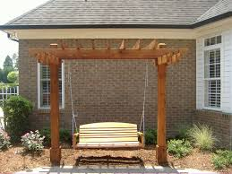 small arbor swing u2013 outdoor decorations