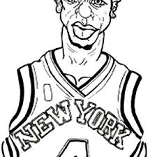 nba players coloring pages nba action coloring page color luna
