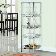 Wire Shelving Storage Storage Shelf With Baskets Walmart Langria 5 Tier Wire Shelving