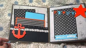 nautical baby album
