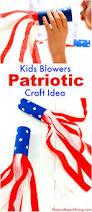 4th of july craft idea patriotic kids blower patriotic crafts