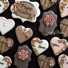 wedding cookies best 25 wedding cookies ideas on engagement cookies