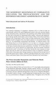how to write critique paper the modernist beginnings of comparative education the proto inside