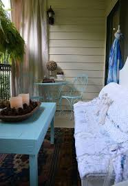 my new shabby chic porch from some discarded items hometalk