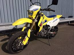 suzuki drz 400 sm yellow and blue great condition only 6970