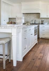 Hardwood Floor Kitchen Gray Cabinets Transitional Kitchen Madison Taylor Design