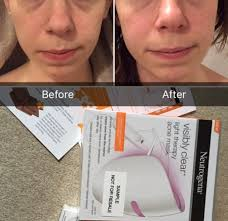 neutrogena face mask light neutrogena visibly clear light therapy acne mask and activator