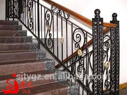 Fer Forge Stairs Design Popular Practical Use Decorative Hand Forged Wrought Iron Stair