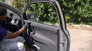 vw polo door panel removal u0026 door mirror replacement youtube