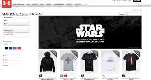 Under Armour Kids Clothes Apparently Under Armour U0027s U0027star Wars U0027 Clothing For U201call Genders