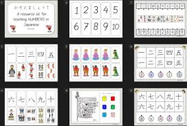 counting japanese teaching ideas