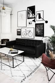 Black And White Living Room Decor Mesmerizing