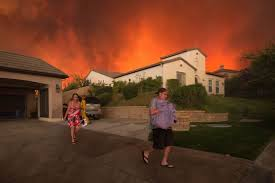 Wildfire Woodland Hills Ca by Hundreds Evacuated As California Wildfires Spread Further