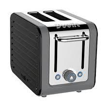 Dualit Toaster Ebay Dualit Architect 2 Slot Grey Body With Gloss Black Panel Toaster