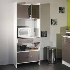 meuble cuisine micro onde meuble micro onde 4 meuble desserte micro ondes l70xp40xh170cm