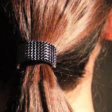 hair cuff gold black silver metal hair band cuff rope half circle decoration
