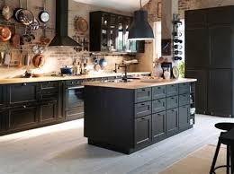 exemple de cuisine avec ilot central modele de cuisine avec ilot central table 6 206lot d233couvrez