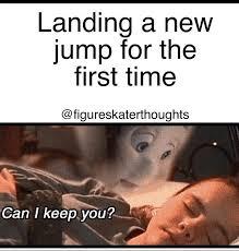 Figure Skating Memes - funny ice figure skating meme ice skating figure pinterest