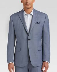 ralph lauren light blue lauren by ralph lauren light blue sharkskin modern fit suit men s