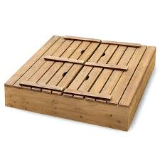 badger basket two bench wood sandbox hayneedle