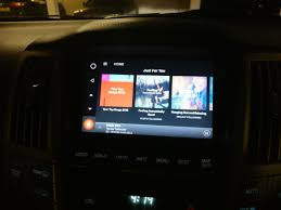 lexus rx 400h youtube grom vline android carplay infotainment upgrade rx 300 rx