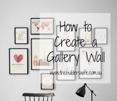 How To Design A Gallery Wall How To Create A Gallery Wall Hit The Builder U0027s Wife
