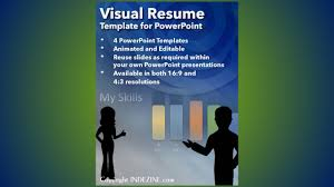 Resume Powerpoint Template Visual Resume Template For Powerpoint Youtube