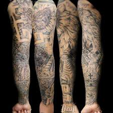 skull arm sleeve 26 angel sleeve tattoos ideas
