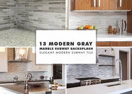 modern subway marble mosaic backsplash tile