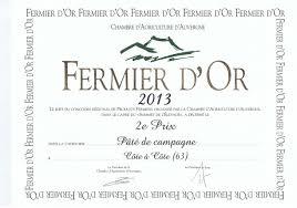 chambre d agriculture cote d or fermier d or 2013 paté de cagne côte à côte viandes fermières