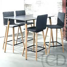 table de cuisine haute tabouret de bar de cuisine table bar cuisine design table haute