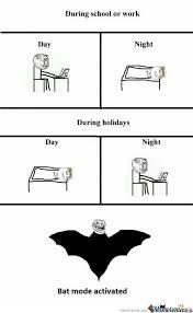 Bat Meme - bat mode by le mao meme center