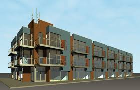 3 story building sba mixed use building at college university knoxville tn