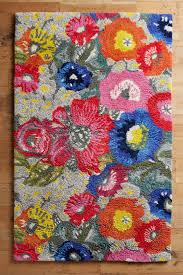 tufted poppy patch rug anthropologie