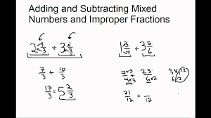 Subtracting Mixed Fractions Worksheets How To Add Fractions Mixed Numbers Boxfirepress